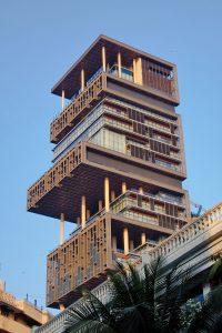 Antilla in Mumbai– Mukesh Ambani 200x300 - Luxurious homes around the world